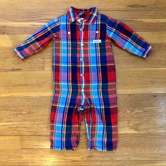 Baby Boy Genuine Ralph Lauren Light Blue Chambray Cotton Shirt 6m,9m,12m,18m,24m